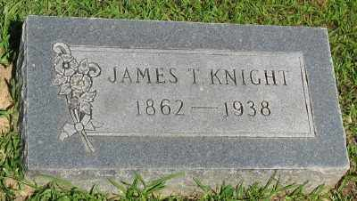 KNIGHT, JAMES T. - Ashley County, Arkansas | JAMES T. KNIGHT - Arkansas Gravestone Photos