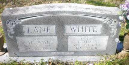 WHITE, LETHA H - Ashley County, Arkansas | LETHA H WHITE - Arkansas Gravestone Photos