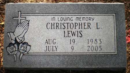 LEWIS, CHRISTOPHER LENARD (OBIT) - Ashley County, Arkansas | CHRISTOPHER LENARD (OBIT) LEWIS - Arkansas Gravestone Photos
