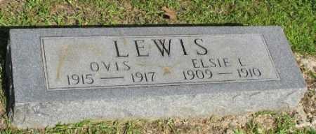 LEWIS, ELSIE L. - Ashley County, Arkansas | ELSIE L. LEWIS - Arkansas Gravestone Photos
