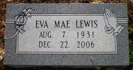 LEWIS, EVA MAE - Ashley County, Arkansas   EVA MAE LEWIS - Arkansas Gravestone Photos