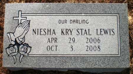 LEWIS, NIESHA KRY'STAL (OBIT) - Ashley County, Arkansas | NIESHA KRY'STAL (OBIT) LEWIS - Arkansas Gravestone Photos