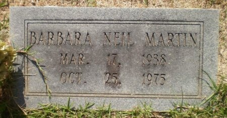 MARTIN, BARBARA - Ashley County, Arkansas | BARBARA MARTIN - Arkansas Gravestone Photos
