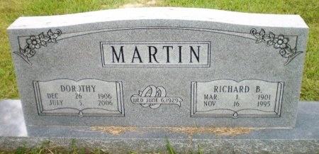 MARTIN, RICHARD B. - Ashley County, Arkansas | RICHARD B. MARTIN - Arkansas Gravestone Photos