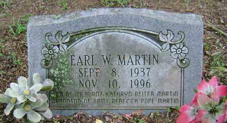 MARTIN, EARL WILBURN - Ashley County, Arkansas   EARL WILBURN MARTIN - Arkansas Gravestone Photos