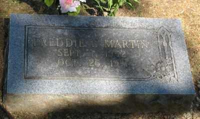 MARTIN, FREDDIE S. - Ashley County, Arkansas   FREDDIE S. MARTIN - Arkansas Gravestone Photos