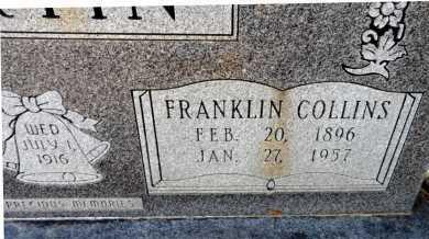 MARTIN, FRANKLIN COLLINS (CLOSE UP) - Ashley County, Arkansas | FRANKLIN COLLINS (CLOSE UP) MARTIN - Arkansas Gravestone Photos