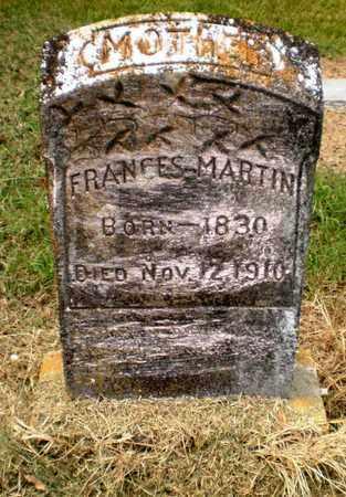 MARTIN, FRANCES - Ashley County, Arkansas   FRANCES MARTIN - Arkansas Gravestone Photos