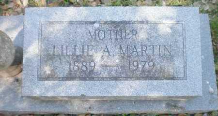 MARTIN, LILLIE A - Ashley County, Arkansas   LILLIE A MARTIN - Arkansas Gravestone Photos