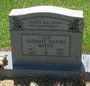 "MARTIN, NATHALEE ""DINK"" - Ashley County, Arkansas   NATHALEE ""DINK"" MARTIN - Arkansas Gravestone Photos"