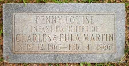 MARTIN, PENNY LOUISE - Ashley County, Arkansas   PENNY LOUISE MARTIN - Arkansas Gravestone Photos