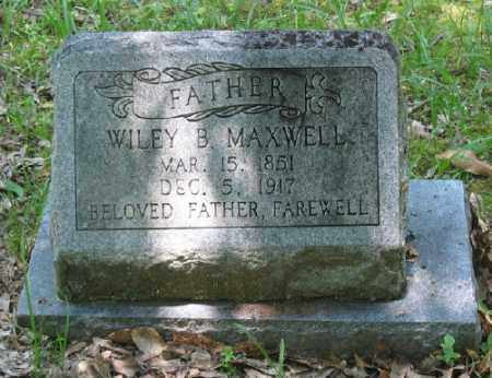 MAXWELL, WILEY B. - Ashley County, Arkansas | WILEY B. MAXWELL - Arkansas Gravestone Photos