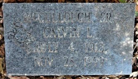 MCCULLOUGH, SR, CALVIN L - Ashley County, Arkansas | CALVIN L MCCULLOUGH, SR - Arkansas Gravestone Photos