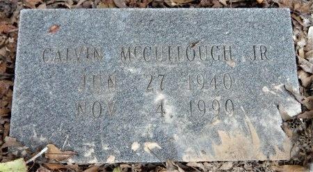 MCCULLOUGH, JR, CALVIN - Ashley County, Arkansas | CALVIN MCCULLOUGH, JR - Arkansas Gravestone Photos