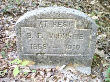 MCDUFFIE, B F - Ashley County, Arkansas | B F MCDUFFIE - Arkansas Gravestone Photos