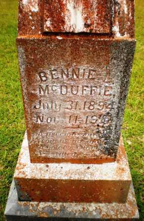 MCDUFFIE, BENNIE L - Ashley County, Arkansas | BENNIE L MCDUFFIE - Arkansas Gravestone Photos