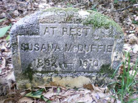 MCDUFFIE, SUSANA - Ashley County, Arkansas   SUSANA MCDUFFIE - Arkansas Gravestone Photos