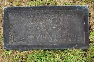 COCKRELL, ELIZABETH - Ashley County, Arkansas | ELIZABETH COCKRELL - Arkansas Gravestone Photos
