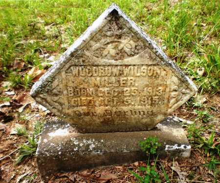 MILLER, WOODROW WILSON - Ashley County, Arkansas | WOODROW WILSON MILLER - Arkansas Gravestone Photos