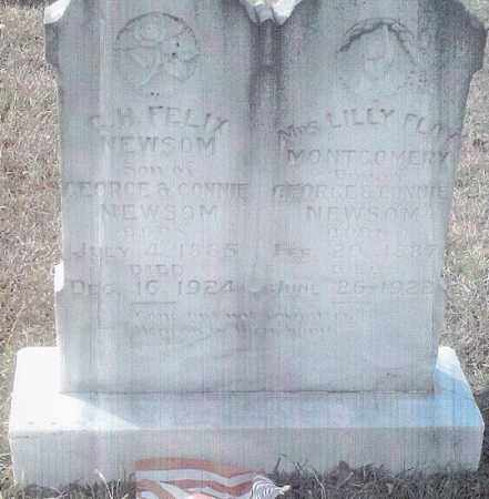 MONTGOMERY, LILLY FLOY - Ashley County, Arkansas | LILLY FLOY MONTGOMERY - Arkansas Gravestone Photos