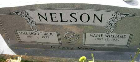 "NELSON, MILLARD FULTON ""JACK"" - Ashley County, Arkansas   MILLARD FULTON ""JACK"" NELSON - Arkansas Gravestone Photos"