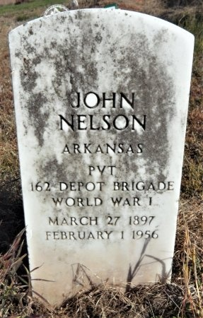 NELSON (VETERAN WWI), JOHN - Ashley County, Arkansas | JOHN NELSON (VETERAN WWI) - Arkansas Gravestone Photos