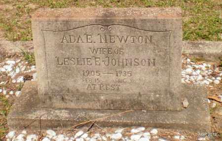 JOHNSON, ADA E - Ashley County, Arkansas | ADA E JOHNSON - Arkansas Gravestone Photos