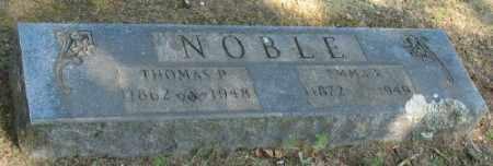 NOBLE, THOMAS P. - Ashley County, Arkansas | THOMAS P. NOBLE - Arkansas Gravestone Photos