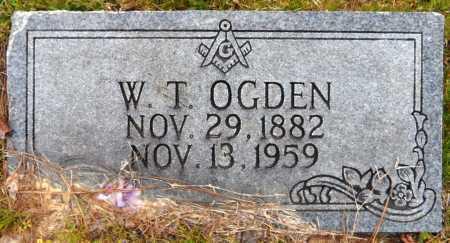 OGDEN, WESLEY T - Ashley County, Arkansas | WESLEY T OGDEN - Arkansas Gravestone Photos
