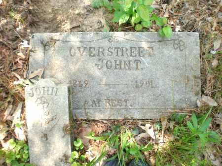 OVERSTREET, JOHN T - Ashley County, Arkansas | JOHN T OVERSTREET - Arkansas Gravestone Photos