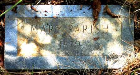 PARISH, MARY - Ashley County, Arkansas   MARY PARISH - Arkansas Gravestone Photos