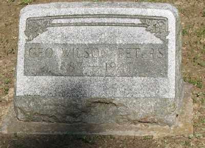 PETERS, GEORGE WILSON - Ashley County, Arkansas | GEORGE WILSON PETERS - Arkansas Gravestone Photos