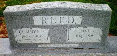 REED, CLAUDIE P - Ashley County, Arkansas | CLAUDIE P REED - Arkansas Gravestone Photos