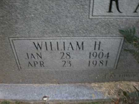 RALPH, WILLIAM H - Ashley County, Arkansas | WILLIAM H RALPH - Arkansas Gravestone Photos