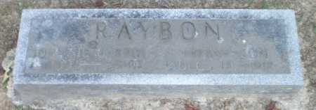 RAYBON, INFANT SON - Ashley County, Arkansas | INFANT SON RAYBON - Arkansas Gravestone Photos