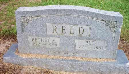REED, PLES - Ashley County, Arkansas | PLES REED - Arkansas Gravestone Photos