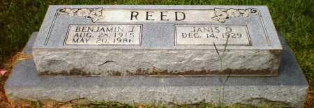 REED, BENJAMIN J - Ashley County, Arkansas   BENJAMIN J REED - Arkansas Gravestone Photos