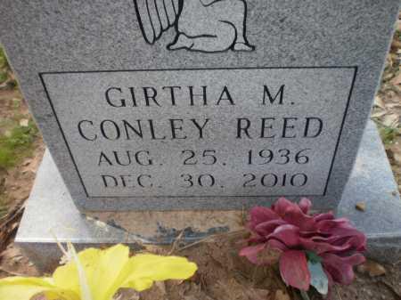 REED, GIRTHA M - Ashley County, Arkansas   GIRTHA M REED - Arkansas Gravestone Photos