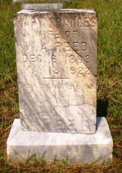 REED, MARY FRANCES - Ashley County, Arkansas   MARY FRANCES REED - Arkansas Gravestone Photos
