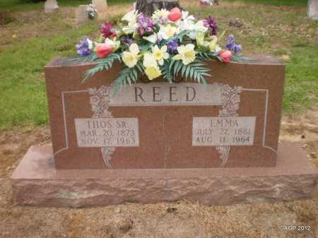 REED, EMMA - Ashley County, Arkansas | EMMA REED - Arkansas Gravestone Photos