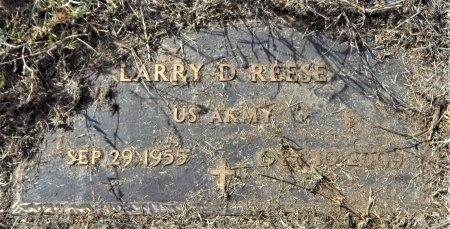 REESE (VETERAN), LARRY D. - Ashley County, Arkansas | LARRY D. REESE (VETERAN) - Arkansas Gravestone Photos