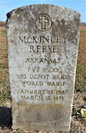 REESE (VETERAN WWI), MCKINLEY - Ashley County, Arkansas | MCKINLEY REESE (VETERAN WWI) - Arkansas Gravestone Photos