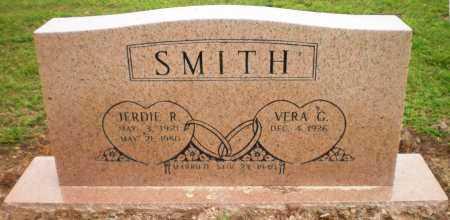 SMITH, JERDIE R - Ashley County, Arkansas | JERDIE R SMITH - Arkansas Gravestone Photos