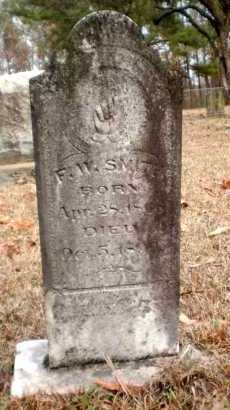 SMITH, FELIX W - Ashley County, Arkansas | FELIX W SMITH - Arkansas Gravestone Photos