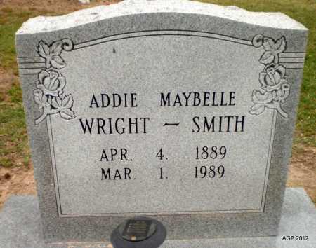 SMITH, ADDIE MAYBELLE - Ashley County, Arkansas   ADDIE MAYBELLE SMITH - Arkansas Gravestone Photos