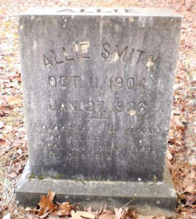 SMITH, ALLIE - Ashley County, Arkansas   ALLIE SMITH - Arkansas Gravestone Photos