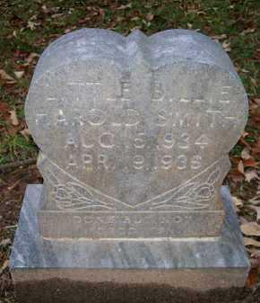 SMITH, BILLIE HAROLD - Ashley County, Arkansas | BILLIE HAROLD SMITH - Arkansas Gravestone Photos
