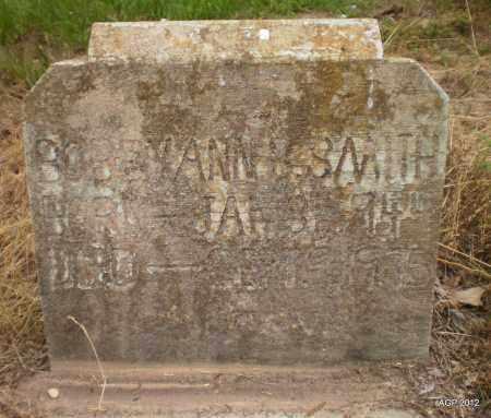 SMITH, BOBBY ANN - Ashley County, Arkansas | BOBBY ANN SMITH - Arkansas Gravestone Photos