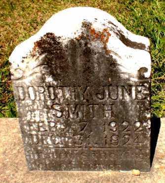 SMITH, DOROTHY JUNE - Ashley County, Arkansas   DOROTHY JUNE SMITH - Arkansas Gravestone Photos