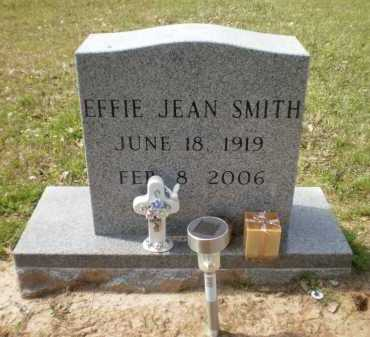 SMITH, EFFIE JEAN - Ashley County, Arkansas   EFFIE JEAN SMITH - Arkansas Gravestone Photos